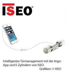 Intelligentes Türmanagement von ISEO.